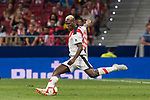 Luis Advincula of Rayo Vallecano in action during the La Liga 2018-19 match between Atletico de Madrid and Rayo Vallecano at Wanda Metropolitano on August 25 2018 in Madrid, Spain. Photo by Diego Souto / Power Sport Images