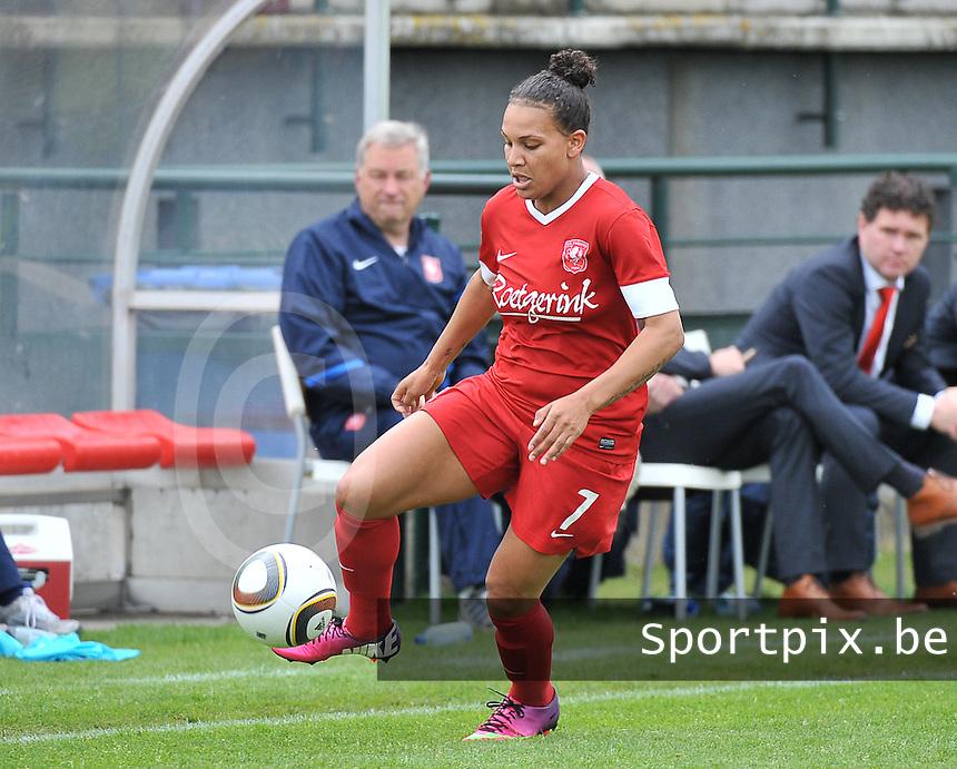 RSC Anderlecht Dames - FC Twente : Shanice van de Sanden.foto DAVID CATRY / Nikonpro.be