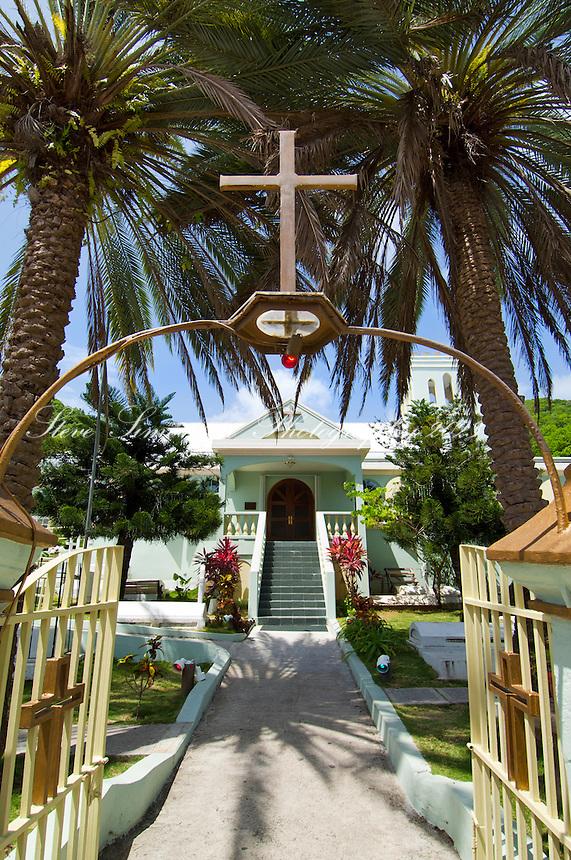 Church on Main Street, Road Town<br /> Tortola<br /> British Virgin Islands