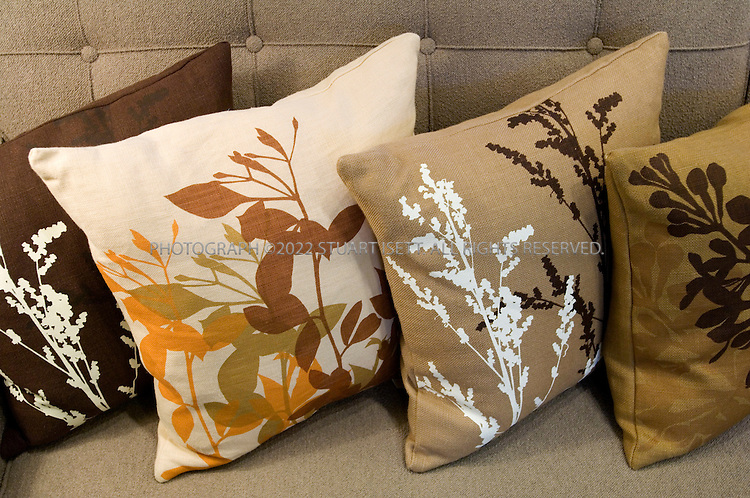 5/4/2007--Seattle, WA, USA..Velocity, a modern design store in Seattle's Belltown district. Pillows by Amenity....Photograph ©2007 Stuart Isett.All rights reserved