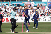 Matt Quinn of Essex in bowling action during Essex Eagles vs Surrey, Vitality Blast T20 Cricket at The Cloudfm County Ground on 5th August 2018