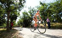05 JUN 2010 - MADRID, ESP - Monica Ayerra Diaz - Spanish Age Group Triathlon Championships (PHOTO (C) NIGEL FARROW)