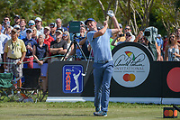 Justin Rose (ENG) drops his club as he watches his tee shot on 7 during round 2 of the Arnold Palmer Invitational at Bay Hill Golf Club, Bay Hill, Florida. 3/8/2019.<br />