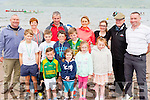 Caherdaniel RC rowers past present and future at the Cromane Regatta on Sunday front l-r: Fionan Foley, Caoimhe Gallivan, Ava gallivan. Middle row: Kai Verdekal, Christopher Wallace, Jim clifford, Oisin Galvin, Ciara Foley. back row: Frank Wallace, Marie Galvin, John, Kathleen, Marie,  Brendan, John Galvin