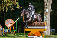 AUS-Samantha Birch rides Faerie Magnifico during the Cross Country for the CCI2*-L6YO. 2019 FRA-Mondial du Lion - FEI World Breeding Championships. Le Lion d'Angers. France. Saturday 19 October. Copyright Photo: Libby Law Photography