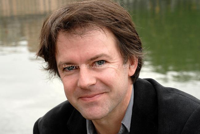 Yannick Haenel, French writer in 2008.