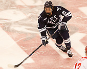 John Hayden (Yale - 21) The Boston University Terriers defeated the visiting Yale University Bulldogs 5-2 on Tuesday, December 13, 2016, at the Agganis Arena in Boston, Massachusetts.