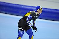 SCHAATSEN: HEERENVEEN: IJsstadion Thialf, 16-11-2012, Essent ISU World Cup, Season 2012-2013, Ladies 3000 meter Division B, Johanna Östlund (SWE), ©foto Martin de Jong