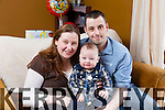 Baby Ryan home for good after  spending the  past 11 months in Crumlin hospital. Pictured here with mom and dad Danielle and Daniel at their home in Killarney
