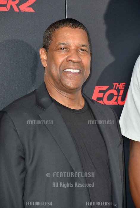 Denzel Washington at the premiere for &quot;The Equalizer 2&quot; at the TCL Chinese Theatre, Los Angeles, USA 17 July 2018<br /> Picture: Paul Smith/Featureflash/SilverHub 0208 004 5359 sales@silverhubmedia.com