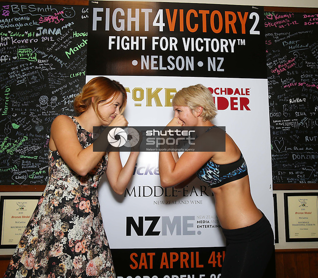 Fight 4 Victory Face Off, McCashins Brewery, Nelson,20th  February 2015, Photographer: Evan Barnes/Shuttersport