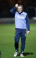 Wycombe Wanderers Manager Gareth Ainsworth named himself on the bench during the The Checkatrade Trophy Southern Group D match between Wycombe Wanderers and Coventry City at Adams Park, High Wycombe, England on 9 November 2016. Photo by Andy Rowland.