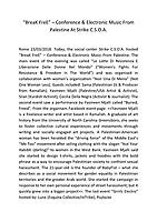 """BreaK FreE"" - PDF"