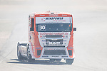 German driver Sascha Lenz belonging German team Sascha Lenz during the fist race R1 of the XXX Spain GP Camion of the FIA European Truck Racing Championship 2016 in Madrid. October 01, 2016. (ALTERPHOTOS/Rodrigo Jimenez)