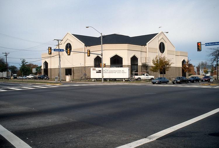 1995 November 14..Redevelopment.Church Street..UNITED HOUSE OF PRAYER...NEG#.NRHA#..