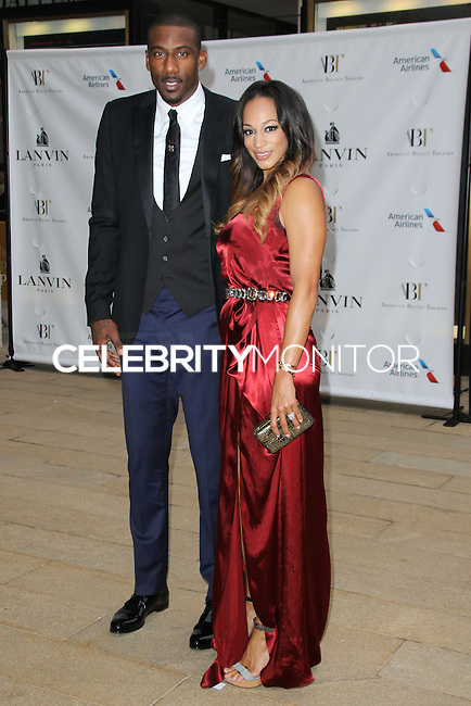 NEW YORK CITY, NY, USA - MAY 12: Amar'e Stoudemire, Alexis Welch at the American Ballet Theatre 2014 Opening Night Spring Gala held at The Metropolitan Opera House on May 12, 2014 in New York City, New York, United States. (Photo by Celebrity Monitor)