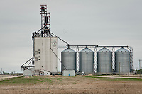 A grain elevator and silos are pictured near  Winnipeg Monday May 23, 2011.