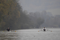 Henley-on-Thames. GREAT BRITAIN,  International training, on the Henley Reach   , training on the River Thames,  at Henley Tue. 07/11/2006, England. Photo, Peter Spurrier/Intersport-images]..... , Rowing Courses, Henley Reach, Henley, ENGLAND