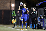 DURHAM, NC - NOVEMBER 25: Duke's Jack Doran. The Duke University Blue Devils hosted the Fordham University Rams on November 25, 2017 at Koskinen Stadium in Durham, NC in an NCAA Division I Men's Soccer Tournament Third Round game. Fordham advanced 8-7 on penalty kicks after the game ended in a 2-2 tie after overtime.