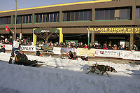 March 3, 2007  Bruce Linton  during the Iditarod ceremonial start day in Anchorage