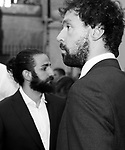 Players Sergio Llull (r) and Ricky Rubio during the first edition of Spanish Basketball Awards. July 25, 2019. (ALTERPHOTOS/Francis Gonzalez)