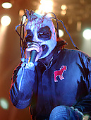 Slipknot Performs at the Continental Airlines Arena in NJ