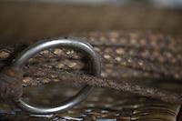 Pocone_MT, Brasil...Detalhes de cordas de couro...Foto: JOAO MARCOS ROSA / NITRO