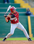 30 April 2008: University of Massachusetts Minutemen first baseman Andy Tuetken, a Senior from Smithfield, RI, in action against the University of Vermont Catamounts at Historic Centennial Field in Burlington, Vermont. The Catamounts recorded a season-high 19 hits as they defeated the Minutemen 17-4 in their last NCAA non-conference game of the year...Mandatory Photo Credit: Ed Wolfstein Photo