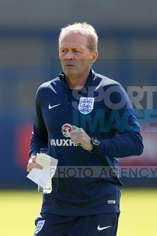 England Under19 coach Keith Downing during the U19's International match at the New Buck?s Head Stadium, Telford. Picture date: 1st September 2016. Picture Malcolm Couzens/Sportimage
