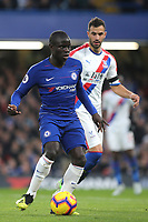 N'Golo Kante of Chelsea in action during Chelsea vs Crystal Palace, Premier League Football at Stamford Bridge on 4th November 2018