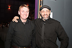 """Cyril McNamara and  Luca Mortalo at the Lourdes Brass Band and St.Brigids Drama Group Performance of """"A Christmas Carol"""" in The Droichead Arts Centre...(Photo credit should read Jenny Matthews www.newsfile.ie)....This Picture has been sent you under the conditions enclosed by:.Newsfile Ltd..The Studio,.Millmount Abbey,.Drogheda,.Co Meath..Ireland..Tel: +353(0)41-9871240.Fax: +353(0)41-9871260.GSM: +353(0)86-2500958.email: pictures@newsfile.ie.www.newsfile.ie."""