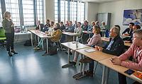 Rotterdam, Netherlands, December 16,  2017, Topsportcentrum,  KNLTB Jaarcongres,  Knowledge session 1, <br /> Photo: Tennisimages/Henk Koster