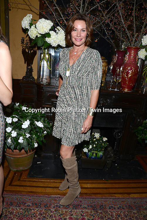 Contess LuAnn de Lesseps  attends the National Arts Club Presents &quot; Charles James:Beneath the Dress&quot;  cockatail party on September 29, 2014 in New York City. The exhibit featured drawings from the collection of R. Couri Hay. <br /> <br /> photo by Robin Platzer/Twin Images<br />  <br /> phone number 212-935-0770