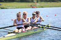 Race: 34  Event: Women's Coxless Fours - Championship - Final<br /> <br /> National Schools Regatta 2018<br /> Sunday<br /> <br /> To purchase this photo, or to see pricing information for Prints and Downloads, click the blue 'Add to Cart' button at the top-right of the page. The Metropolitan Regatta 2018