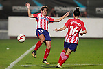 Atletico de Madrid's Marta Corredera (l) and Jucimara Thais Soares Paz during UEFA Womens Champions League 2017/2018, 1/16 Final, 1st match. October 4,2017. (ALTERPHOTOS/Acero)