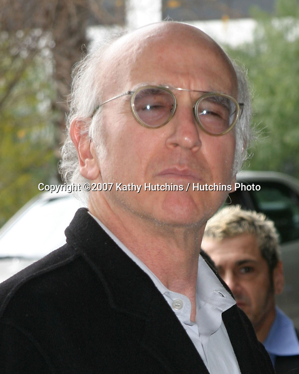 "Larry David.Annual ""I Have a Dream"" Foundation Brunch Benefit.House of Blues - Hollywood.W. Hollywood, CA.January 28, 2007.©2007 Kathy Hutchins / Hutchins Photo."