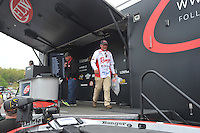 NWA Democrat-Gazette/Michael Woods --04/24/2015--w@NWAMICHAELW... Day 2 of the Walmart FLW tournament on Beaver Lake Friday evening in Rogers.