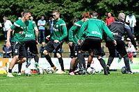 HAREN - Voetbal, Eerste Training FC Groningen  sportpark de Koepel, 01-07-2017,  FC Groningen speler Yoell van Nieff en FC Groningen speler Mike te Wierik