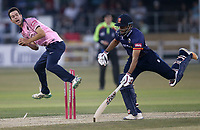 Delight for Nathan Sowter of Middlesex as he runs out Ravi Bopara during Essex Eagles vs Middlesex, Vitality Blast T20 Cricket at The Cloudfm County Ground on 6th July 2018