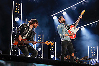 09 June 2019 - Nashville, Tennessee - Matthew Ramsey,Geoff Sprung,Old Dominion. 2019 CMA Music Fest Nightly Concert held at Nissan Stadium. <br /> CAP/ADM/FRB<br /> ©FRB/ADM/Capital Pictures