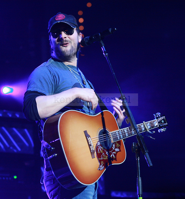 """Eric Church performs in Rupp Arena as a part of the """"My Kinda Party"""" tour on Friday night, March 4, 2011. Photo by Scott Hannigan 