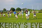 John Blennerhassett Milltown-Castlemaine in action against David Culloty Saint Brendans in the First Round of the Kerry Senior Football Championship at Milltown on Sunday.