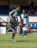 Marcus Bean of Wycombe Wanderers during the Sky Bet League 2 match between Wycombe Wanderers and Accrington Stanley at Adams Park, High Wycombe, England on the 30th April 2016. Photo by Liam McAvoy / PRiME Media Images.