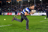 A general view of half-time competition. Aviva Premiership match, between Bath Rugby and Sale Sharks on October 7, 2016 at the Recreation Ground in Bath, England. Photo by: Patrick Khachfe / Onside Images