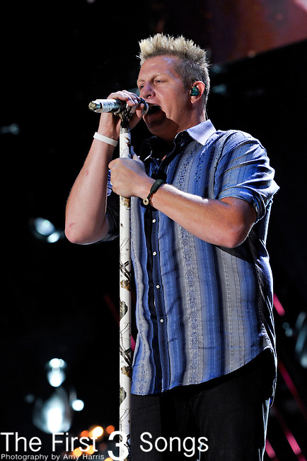 Gary LeVox of Rascal Flatts performs at LP Field during the 2011 CMA Music Festival on June 11, 2011 in Nashville, Tennessee.
