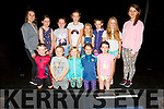 Attending the Summer Stage Camp at the Tinteán Theatre Ballybunion on Monday.<br /> Kneeling l to r: Jack Brown, Noah Carr, Katie Brown, Aoife Lynch and Ellie Cregan<br /> Standing l to r: Roza Karin (Teacher), Caoimhe Glennon, Mia Jennifer O'Connor, Lelia McCarthy, Mary Kate Wall, Edel O'Leary, Brenna Lynch and Helena Brosnan (Teacher).