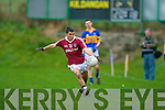 Gearoid O'Sullivan Dromid Pearses v  Kildangan in the Munster Junior Football Final at Moyvane on Sunday