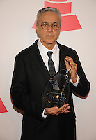 LAS VEGAS, NV - November 14: Person of the Year Caetano Veloso attends the Latin Grammys Person of the Year red carpet arrivals at the MGM Grand on November 14, 2012 in Las Vegas, Nevada. Photo By Kabik/ Starlitepics/MediaPunch Inc. /NortePhoto