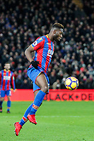 Timothy Fosu-Mensah of Crystal Palace during the Premier League match between Crystal Palace and Watford at Selhurst Park, London, England on 12 December 2017. Photo by Carlton Myrie / PRiME Media Images.