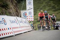 buddies Greg Van Avermaet (BEL/CCC) & Oliver Naesen (BEL/AG2R-LaMondiale) crossing the top of the Horquette d'Ancizan together<br /> <br /> Stage 12: Toulouse to Bagnères-de-Bigorre(209km)<br /> 106th Tour de France 2019 (2.UWT)<br /> <br /> ©kramon
